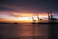 coucher-du-soleil-_-port-de-djibouti
