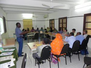 Environmental education workshop's presentation
